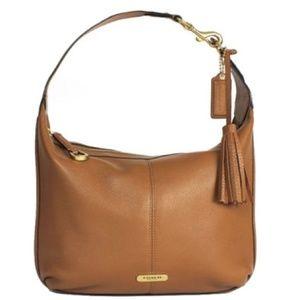COACH - Avery Tan / Brown Leather Purse